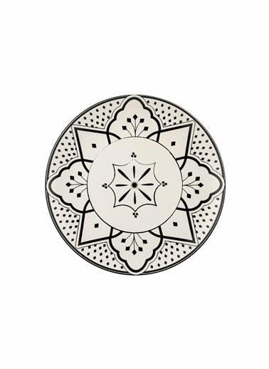 The Mia Maroc Pasta Tabağı 6lı Set - 21cm Beyaz